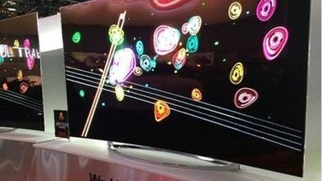 CES: LG's TV bends before your eyes (video) | Video Breakthroughs | Scoop.it