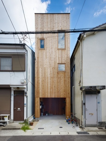 [Hyogo, Japan] House in Nada / Fujiwarramuro Architects | The Architecture of the City | Scoop.it
