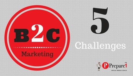 Top 5 Challenges for B2C Content Marketers | Social Media Coach | Prepare1 — Prepare 1 | Social Media  Coach | Scoop.it