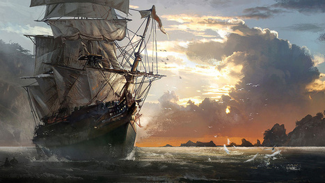 Assassin's Creed IV Isn't All Rum & Beaches. There's...Montreal, Too. | Concept art, Painting & Illustration | Scoop.it
