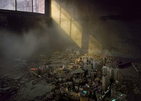 Jiang Pengyi's Miniature Decaying Urban Landscapes | Colossal | Aural Complex Landscape | Scoop.it