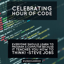 Celebrating Hour Of Code | Tech, Web 2.0, and the Classroom | Scoop.it