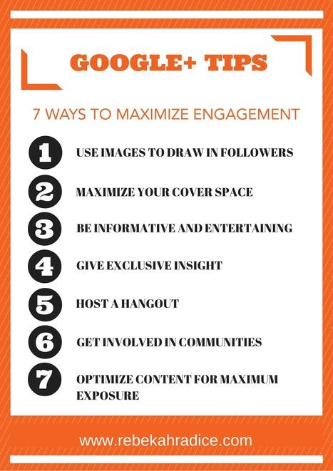 7 Google+ Tips to Create Maximum Engagement | Links sobre Marketing, SEO y Social Media | Scoop.it