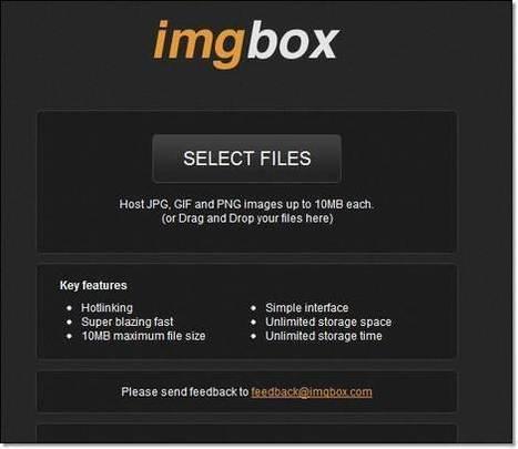7 services de partage photos et fichiers: glisser et partager | Trucs et astuces du net | Scoop.it