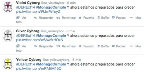 Robots para lograr que #MonagoCumple sea trending topic en Twitter | Comunicación 2.0 | Scoop.it