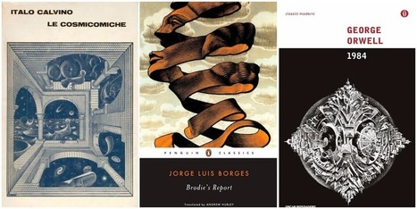 M.C. Escher Cover Art for Great Books by Italo Calvino, George Orwell & Jorge Luis Borges | Books, Photo, Video and Film | Scoop.it