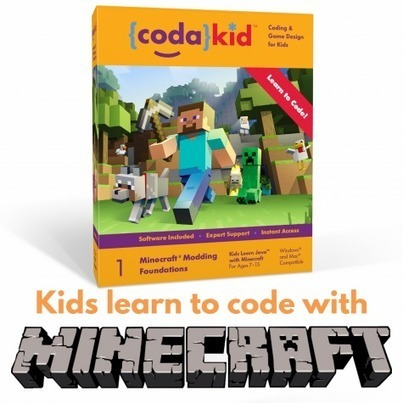 Minecraft Modding with CodaKid. Featured Review on codingBox | Learning on the Digital Frontier | Scoop.it