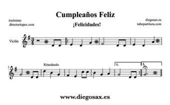 Tubepartitura cumplea os feliz partitur - Cumpleanos feliz piano ...