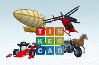 Tinkercad, una iniciación al diseño en 3D   EDUCATIC   Scoop.it