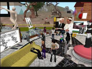 Language Learning in Second Life: an introduction - Karelia Kondor on blip.tv | Virtual World Language Learning | Scoop.it