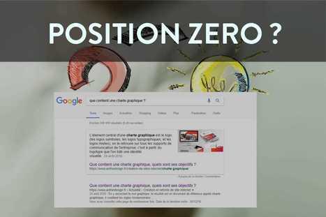 Qu Est Ce Que La Position Zero Sur Googl