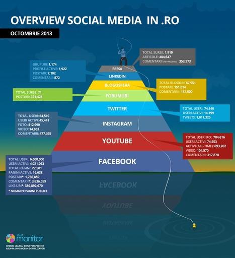 Infografic: Social media in Romania   DigitalGap   Scoop.it