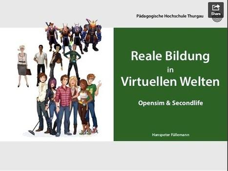 Bildung in virtuellen Welten   3D Content & E-Learning   Scoop.it