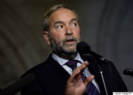 Bring Back Per-Vote Subsidy To Clean Up Politics: Mulcair | Canada and its politics | Scoop.it
