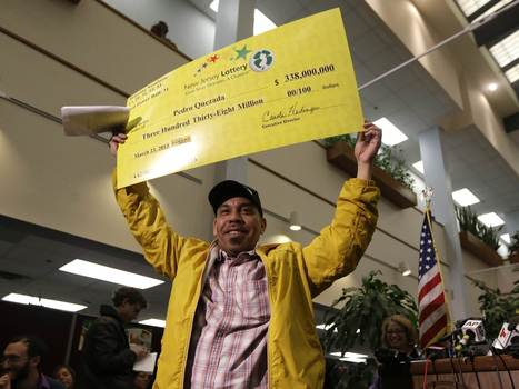 $338M Powerball winner wanted for failure to pay child support   Radio Show Contents   Scoop.it