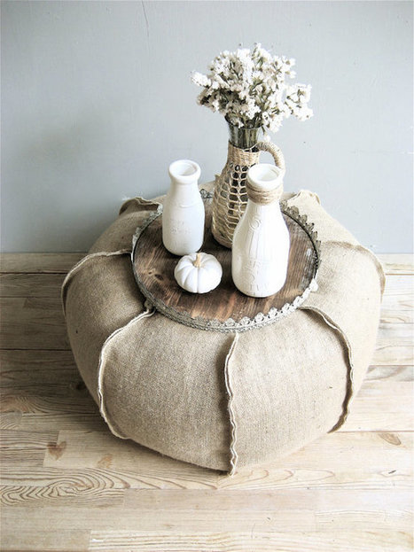 8 Ways You Can Incorporate Burlap into Your Decor for a Rustic Look | Designing Interiors | Scoop.it