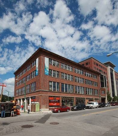 "New lofts put focus on vintage building reuse | ""Adaptive Reuse"" 