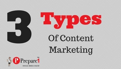 3 Types of Content That Will Drive You More Traffic | Social Media Coach — Prepare 1 | Social Media  Coach | Scoop.it