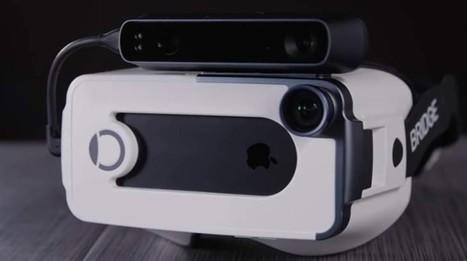 Bridge, nuevos cascos de Realidad Virtual para iPhone con seguimiento de posición   Innovación   Scoop.it