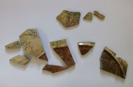 Medieval 'sgraffito' pottery from Thaxted, Essex | Archaeology News | Scoop.it