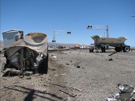 NTSB Opens Public Docket on Grade Crossing Accident in Nevada   Creating designs 'fit' for people!   Scoop.it