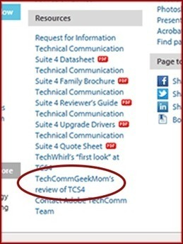 """""""Hey Mom, you're a TechCommcelebrity!"""" 