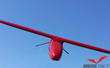 Airborne Concept lance le premier drone largué par un avion | Des robots et des drones | Scoop.it