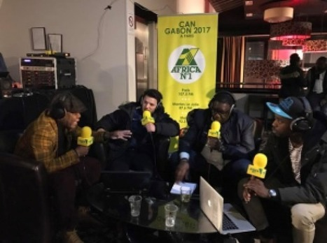 La CAN 2017 sur RFI et Africa N°1 | Radioscope | Scoop.it