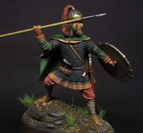Merovingian frank | Military Miniatures H.Q. | Scoop.it