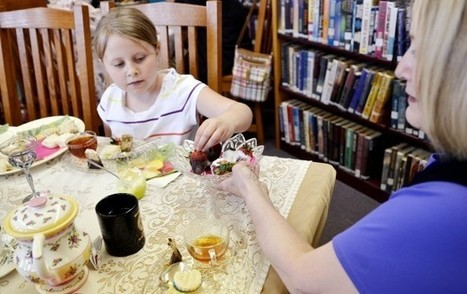 Afternoon Tea at the Rochester Library | Cha-Ching | Scoop.it