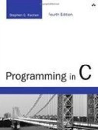 programming in c kochan 4th edition pdf download