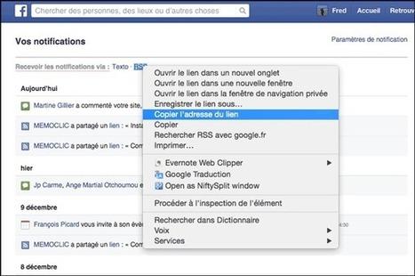 Comment recevoir ses notifications Facebook dans un lecteur RSS ? | Curation de contenus | Scoop.it