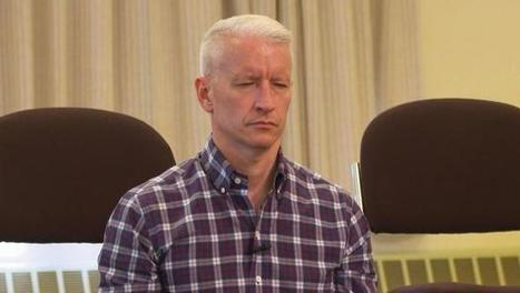 New York Open Center's Facebook Wall: I love when mindfulness goes mainstream. Thank you Anderson Cooper for putting yourself out there to show the world how important meditation is to focus and we... | Online Mindfulness Therapy | Scoop.it