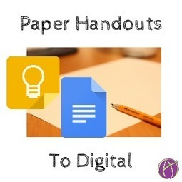 #OCSB - Is this the year you move away from paper handouts to digital? (via @AliceKeeler) | ESOL Mix | Scoop.it