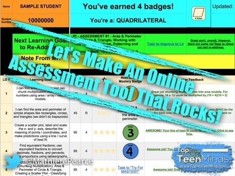 Let's Make An Online Assessment Tool That Rocks! | 21st Century Concepts Math | Scoop.it
