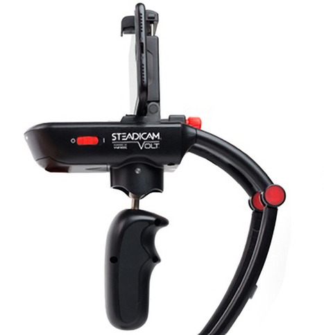 The Steadicam Volt Stabilizer Lets Smartphone Users Shoot Smooth Videos Like a Pro   iPhoneography-Today   Scoop.it
