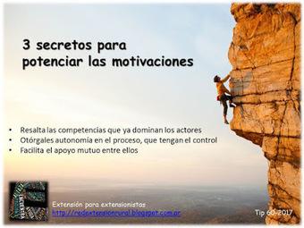 3 secretos para potenciar las motivaciones en la tarea de desarrollo | Educacion, ecologia y TIC | Scoop.it