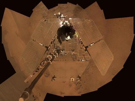 NASA - Dusty Mars Rover's Self-Portrait | Exploring Amateur Astronomy | Scoop.it