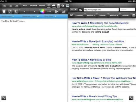 8 Apps for Aspiring Novelists | Mac|Life | Writing Tools | Scoop.it