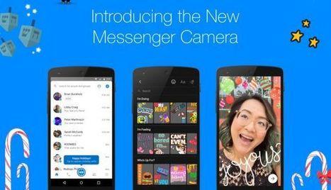 Facebook Messenger Launches New Camera   e-commerce & social media   Scoop.it