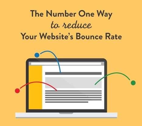 How To Reduce Your Website's Bounce Rate In One Step | B2B Content Strategy | Scoop.it