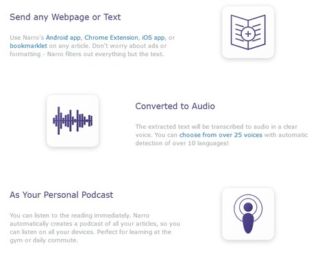 Narro: convert any text or RSS feeds into audio podcast (14 languages, including French) | RSS Circus : veille stratégique, intelligence économique, curation, publication, Web 2.0 | Scoop.it