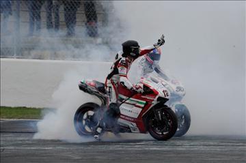 Berger hits back with best result on Red Devils debut | Crash.Net | Ductalk Ducati News | Scoop.it