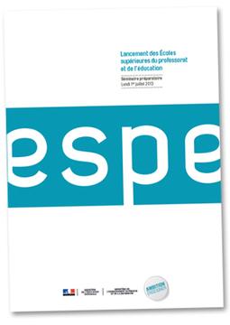 Lancement des Écoles supérieures du professorat et de l'éducation - Ministère de l'Éducation nationale | Ressources pour les TICE en primaire | Scoop.it