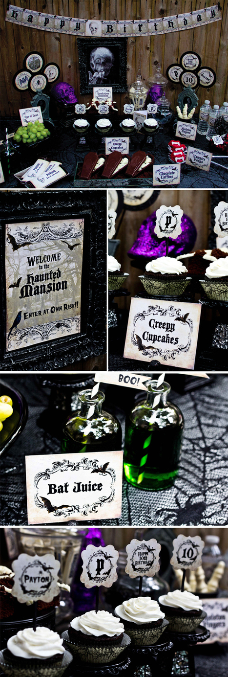 Spooky Haunted Mansion Halloween Birthday Party! | Halloween & Spooky Fun Stuff~ | Scoop.it