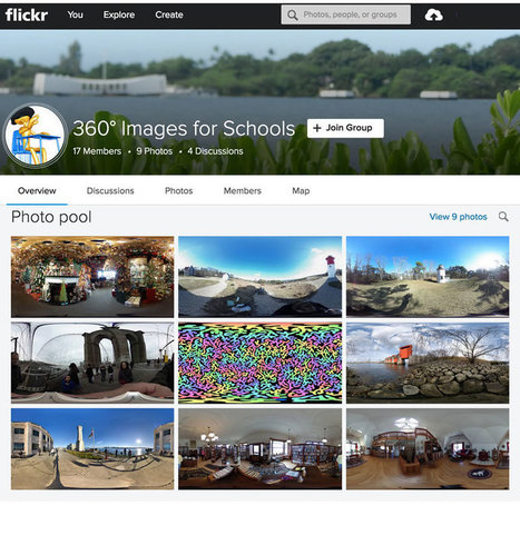 Join Kathy Schrock in Creating a Collection of 360 Images for Schools | Cool Tools for 21st Century Learners | Cool Tools for Multimedia | Scoop.it
