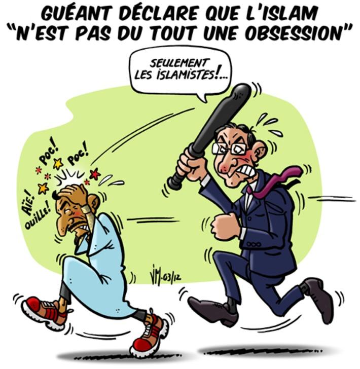 """Guéant déclare que l'islam """"n'est pas du tout une obsession""""   Baie d'humour   Scoop.it"""