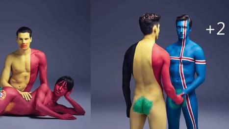 Mélangez-vous, protégez-vous: une campagne d'affichage colorée et sensuelle | Un peu de tout et de rien ... | Scoop.it