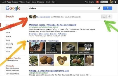 Google Search plus Your World : fusion de SEO et SMO ? | Digital Experiences by David Labouré | Scoop.it