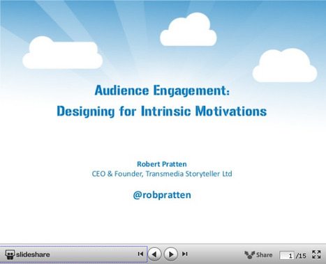 Audience Engagement: Designing for Intrinsic Motivations | Transmedia: Storytelling for the Digital Age | Scoop.it